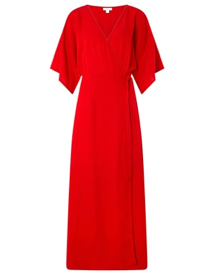Caroline Wrap Dress, Monsoon, £129