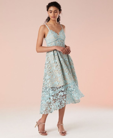 Madison Strappy Lace Dress, Monsoon, £159