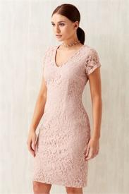 Rose V-Neck Lace Dress, Roman, £25